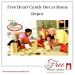 Free Heart Candy Box at Home Depot