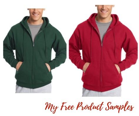 d7230164 Hanes Men's Full-Zip EcoSmart Fleece Hoodie $11.20 ...