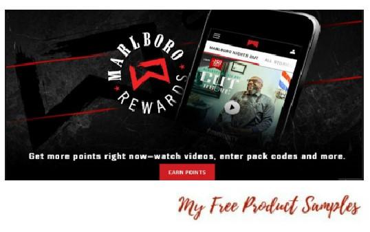 Marlboro Rewards - Earn Free Gifts | MyFreeProductSamples com