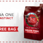 Free Bag of Purina ONE True Instincts Dog or Cat Food