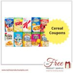 Cereal Coupons: Save up to $8 on Cinnamon Toast Crunch, Kellogg's & More