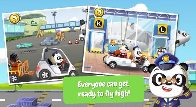 Free Dr. Panda Airport App