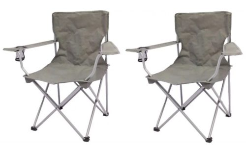 Walmart Ozark Trail Folding Chairs 2 Pack Only 12 95