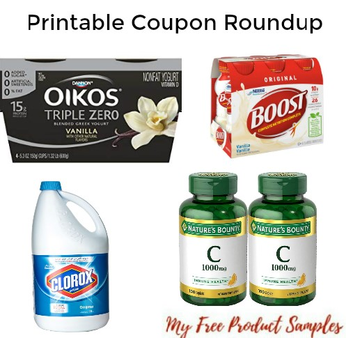 photograph about Nature's Bounty Coupon Printable known as Printable Coupon Roundup: Natures Bounty, Clorox, Dinty