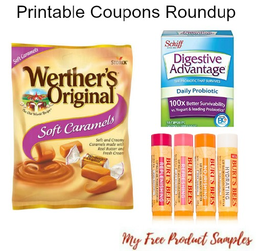 graphic about Printable Rogaine Coupon identified as Printable Coupon codes Roundup: Werthers, Burts Bees, Rogaine