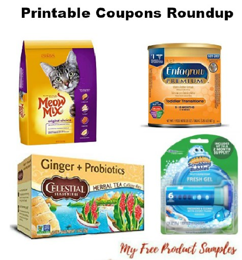graphic about Meow Mix Coupon Printable named Printable Coupon codes Roundup: Kelloggs, Scrubbing Bubbles