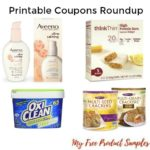 Printable Coupons Roundup: Crunchmaster, Oxiclean, Aveeno & More