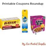 Printable Coupons Roundup: AVEENO, Kellogg's, Pledge & More