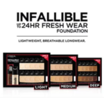 FREE Sample Infallible Fresh Wear Foundation from L'Oréal