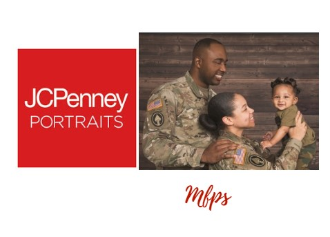 JCPenney Portraits - Free 8x10 for Military Families