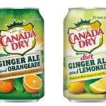 Free Canada Dry Ginger Ale Drinks with Orangeade & Lemonade