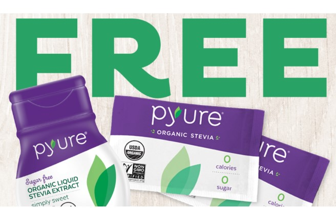 Freeosk: Free Pyure Organic Stevia Sample at Walmart
