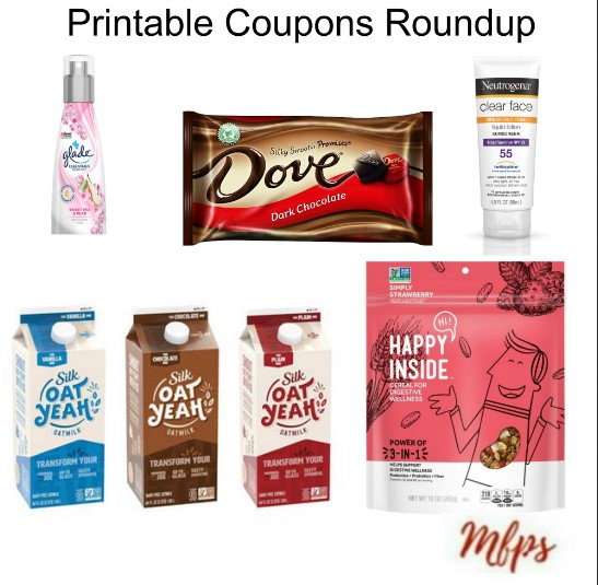 photo regarding Neutrogena Printable Coupons named Printable Coupon codes Roundup: DOVE, Glade, NEUTROGENA Excess