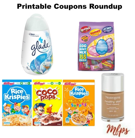 photograph regarding Glade Printable Coupons named Printable Coupon codes Roundup: NEUTROGENA, Silk, Glade Even further