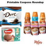 Newest Printable Coupons: Dove Promises, Huggies, Dunkin' Donuts & More