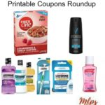 Printable Coupons Roundup: Fiber One, LISTERINE, AXE & More