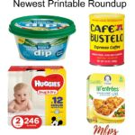 Printable Coupons Roundup: Dove Promises, Huggies, Dunkin' Donuts & More