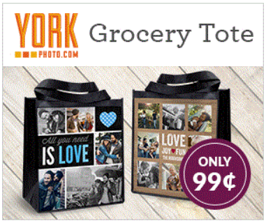 $0.99 Reusable Shopping Bag (US and CAN)