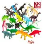 72-Piece Dinosaur Toy Set $9.48 {Reg $20}
