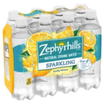 FREE 8-Pack of Zephyrhills Brand Sparkling Natural Spring Water