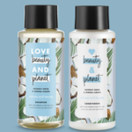 FREE Trial Size Coconut Water & Mimosa Flower Shampoo and Conditioner