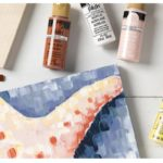 Free Plaid Learn to Paint Party