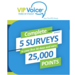 Join VIP Voice for FREE $25 Gift Cards