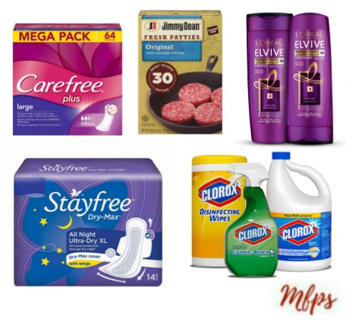 graphic about Stayfree Printable Coupon titled Hottest Printable Discount codes: Carefree, Air Wick, Clorox, L