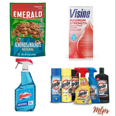 image about Windex Printable Coupon called Latest Printable Coupon codes: Emerald, Windex, VISINE Even further