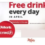 Pilot Flying J – Free Drink Each Day in April