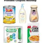 Printable Coupons Roundup: AVEENO, Frigo, Flonase, Kellogg's & More