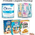 Printable Coupons Roundup: Gerber, Kellogg's, Schick & More