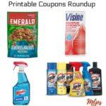 Printable Coupons Roundup: Emerald, Windex, VISINE & More