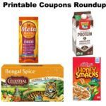 Printable Coupons Roundup: Celestial Seasonings, Metamucil, Kellogg's & More