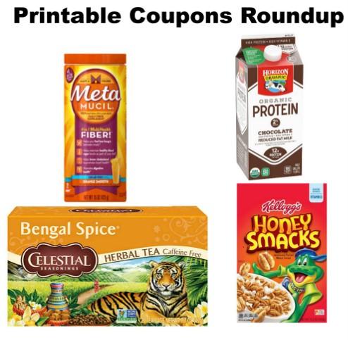 photo about Metamucil Coupons Printable titled Printable Discount codes Roundup: Celestial Seasonings, Metamucil