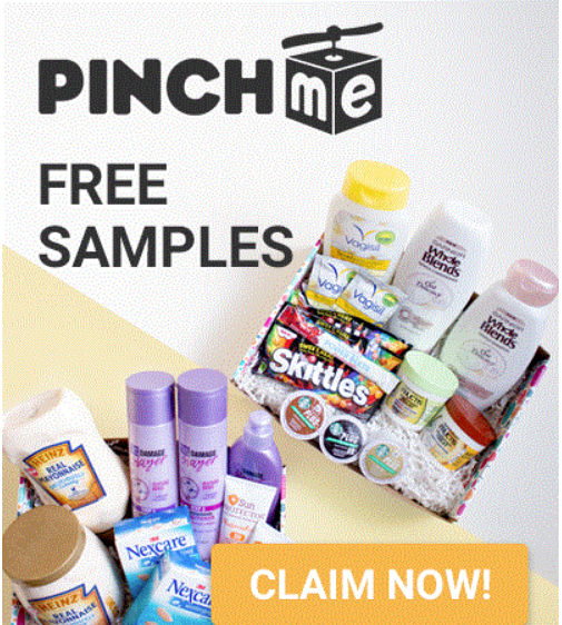 FREE samples with PINCHme – Next Giveaway is 10/8