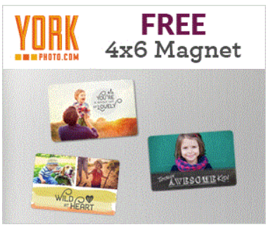 FREE Custom Photo Magnet Just Pay S&H