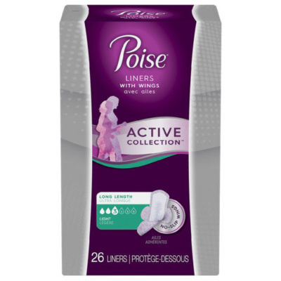 Walgreens: Poise Active Collection Pads & Liners ONLY $0.99 Starting 5/26