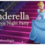 Free Cinderella Movie Night Party Pack