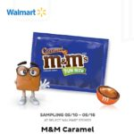 Freeosk: Free M&M's Caramel at Walmart