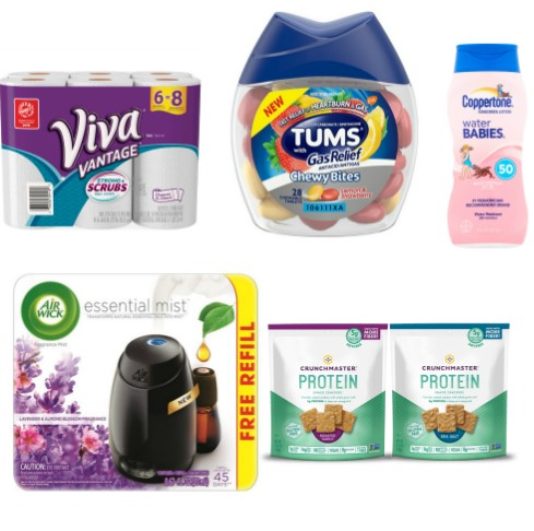 picture regarding Tums Coupon Printable named Most up-to-date Printable Discount codes: Coppertone, TUMS, Air Wick Even more