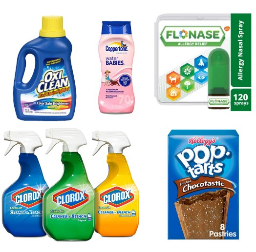 image about Flonase Printable Coupon identified as Most recent Printable Discount codes 05/28: Pop-Tarts, Flonase, Schick
