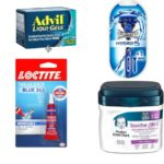 Newest Printable Coupons: Schick, Advil, Loctite, Clorox and More