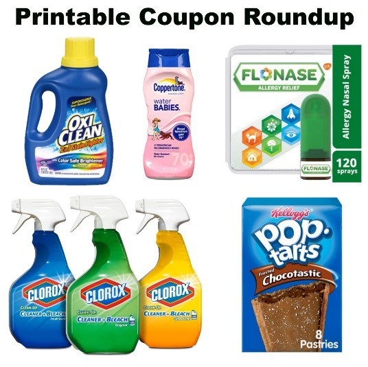 photo relating to Flonase Coupons Printable called Printable Discount codes Roundup: Pop-Tarts, Flonase, Schick Further more