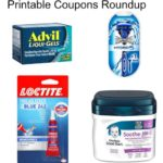 Printable Coupons Roundup: Schick, Advil, Loctite, Clorox and More