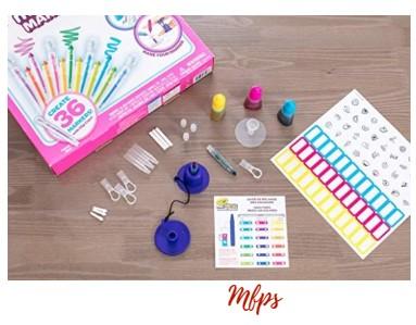 Amazon: Crayola Mini Neon Marker Maker, 36 Scented $5.82