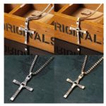 Cross Shape Pendant Necklace ONLY $3 Shipped