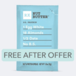 FREE RX Nut Butter™ 1.13 oz pack at Walmart