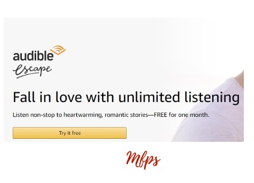 Free 30 Days of Romance Novels From Audible