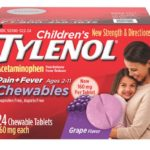 Free Children's Chewable Pain Medication